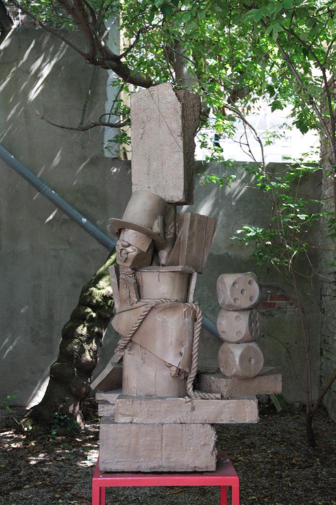 Cristian Andersen bronze sculpture