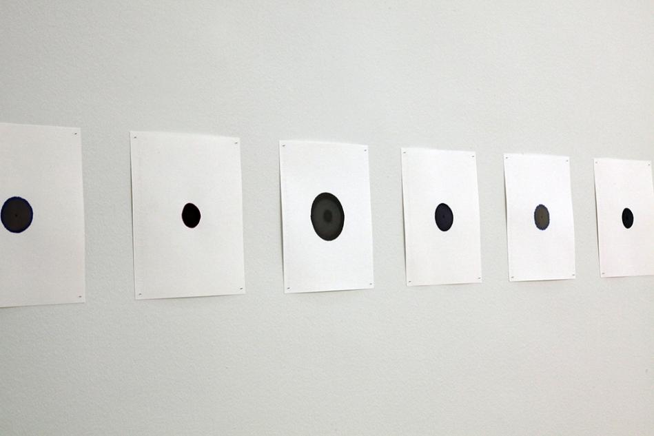 ink blots wall