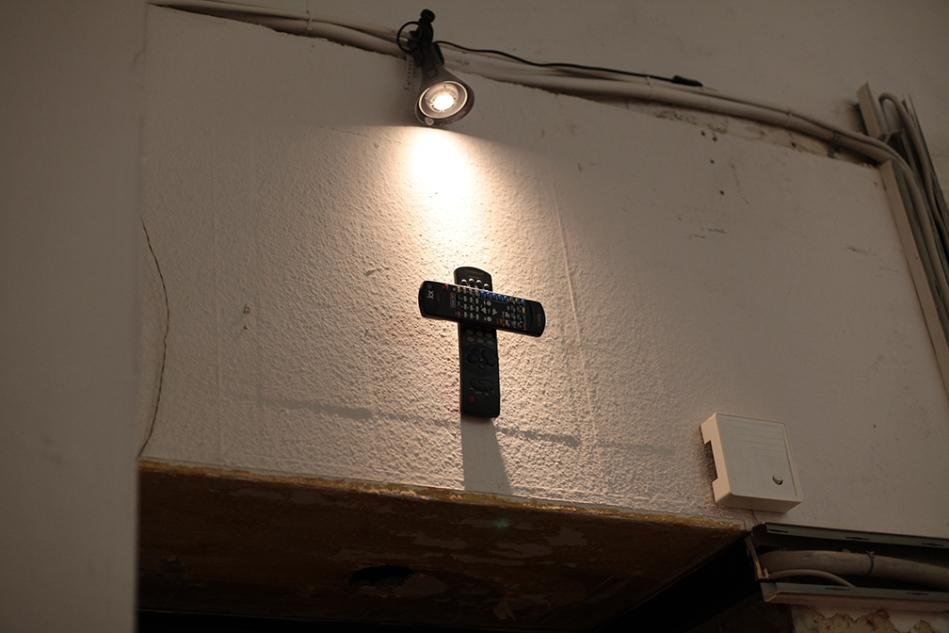 remote crucifix