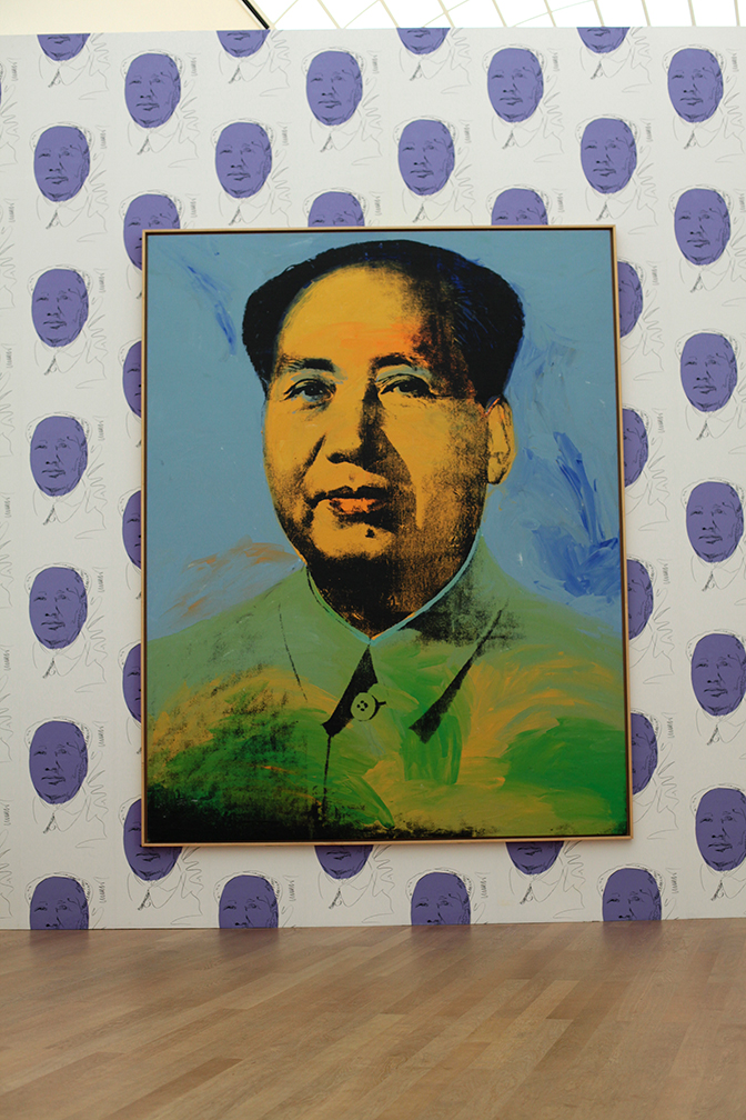 Warhols Mao
