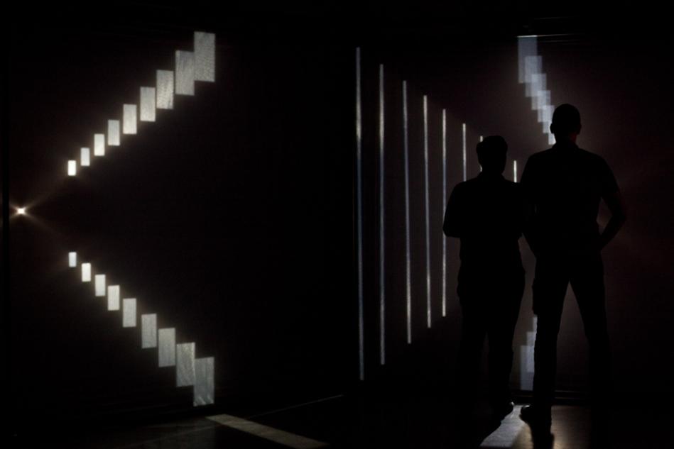 Nonotak (Noemi Schipfer and Takami Nakamoto) collaborative video installation work