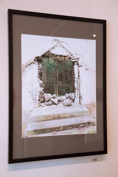 "digital photo by Frank Duckstein, entitled ""Green Door"""